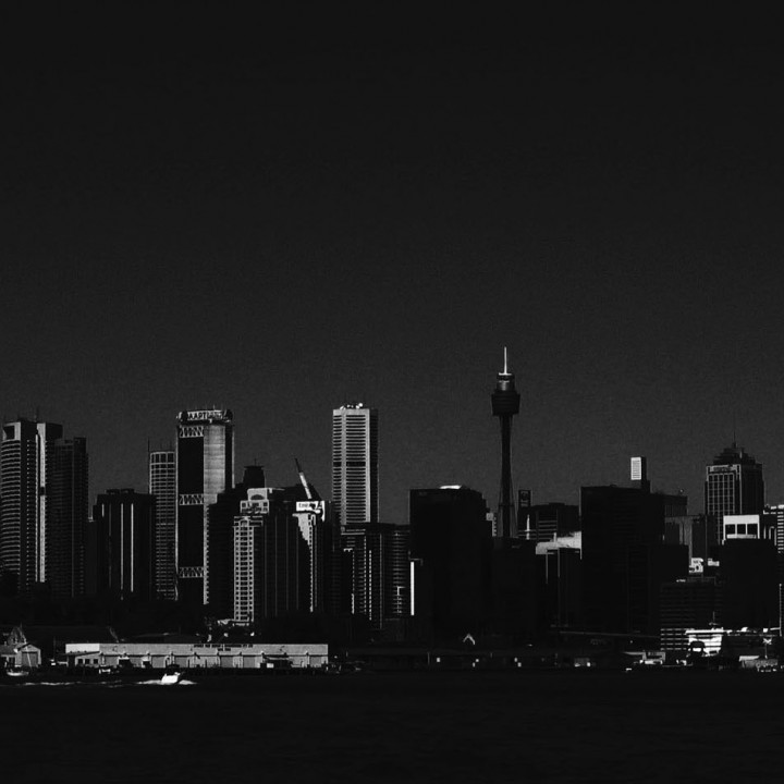 Sydney Skyline from Ferry