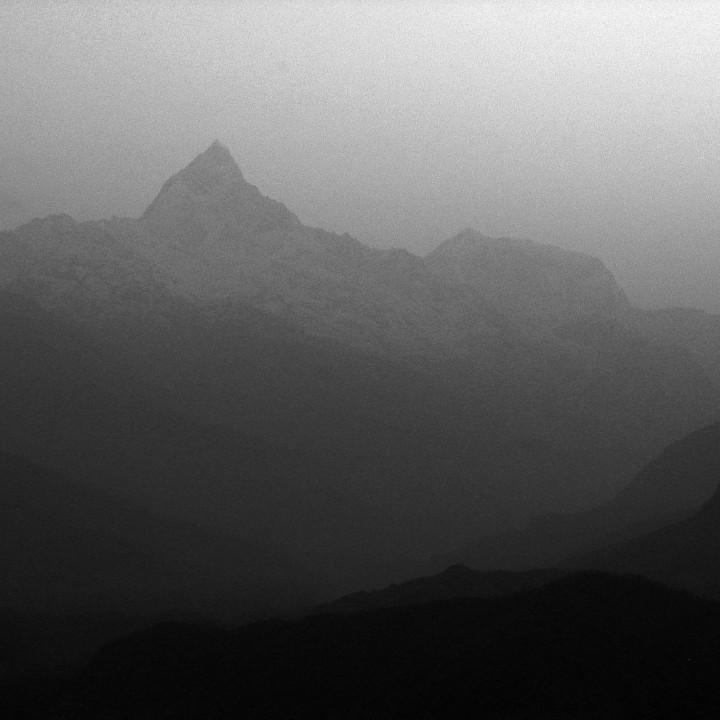 Fish Tail Mountain in Pokhara Nepal