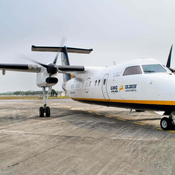 Dash 8-100 GMG Airlines